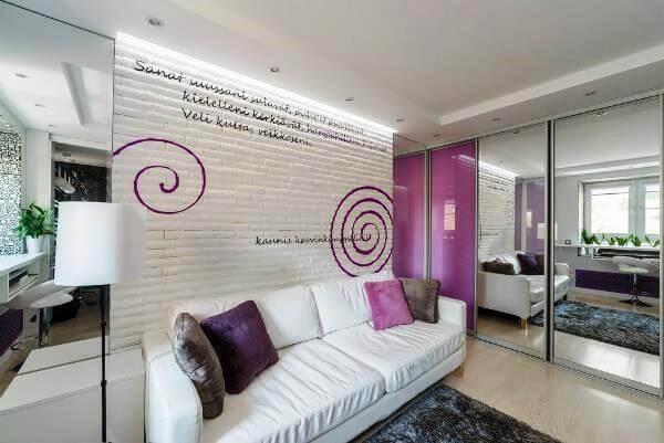 квартира студия интерьер фото 30 метров