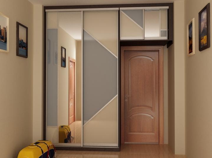 Шкаф вместо стены