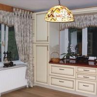 красивые ламбрекены на кухню фото 20