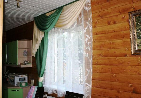 Ламбрекены на маленькие окна фото