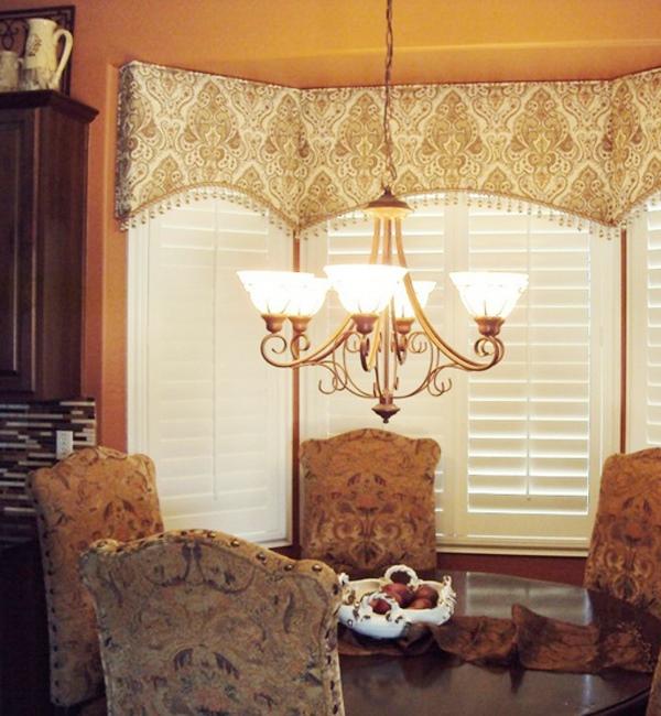 шторы на кухню с ламбрекеном фото 5