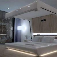 освещение в спальне без люстры фото 12