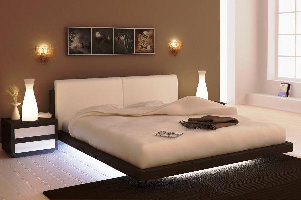 освещение в спальне без люстры фото 9