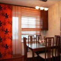 римская штора на кухню фото 16