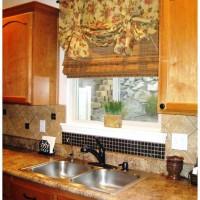 римская штора на кухню фото 21