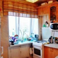 римская штора на кухню фото 22
