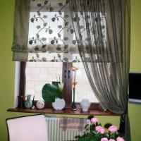 римская штора на кухню фото 26