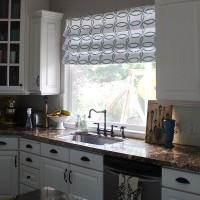 римская штора на кухню фото 31