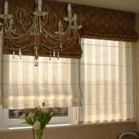 римская штора на кухню фото 32