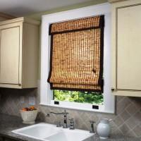 римская штора на кухню фото 33