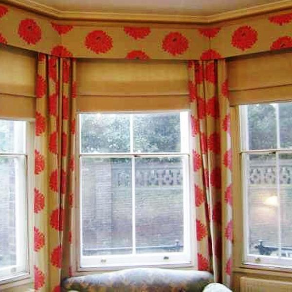 шторы на кухню с ламбрекеном фото