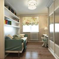 дизайн 1-комнатной квартиры хрущевки 30 кв м фото