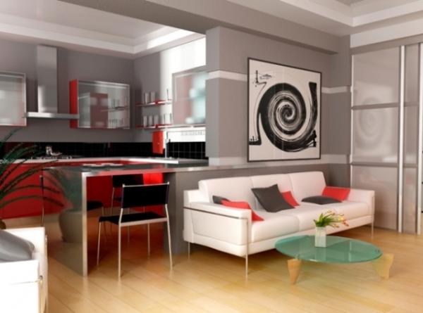 дизайн однокомнатной квартиры хрущевки 32 кв м фото