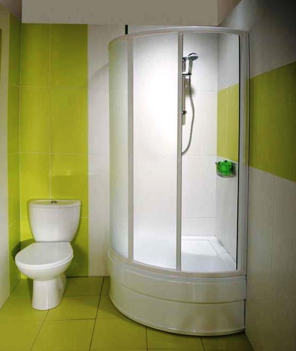 душевая кабина в маленькой ванной комнате фото цены