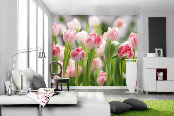 фотообои 3д для стен каталог фото цветы 2