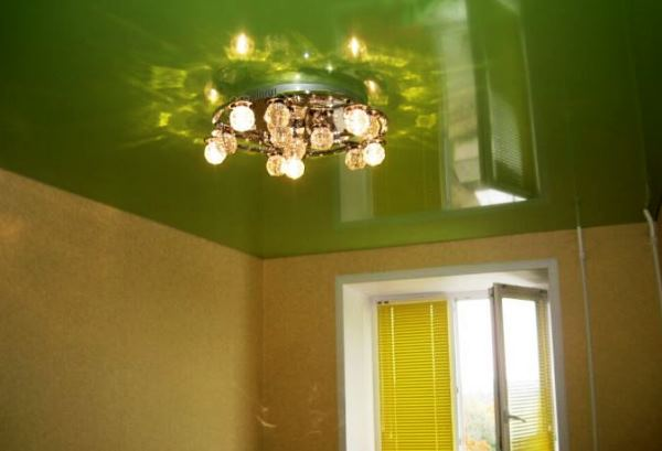 люстры для натяжного потолка фото для кухни