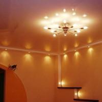 люстры под натяжной потолок фото 24