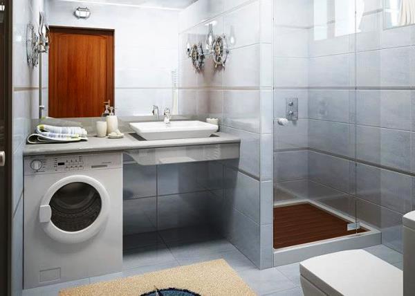 маленькие ванные комнаты с душевой кабиной фото 7