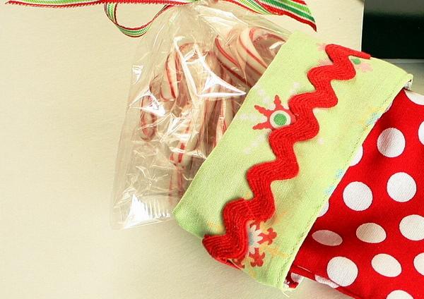 носок для подарков фото 5