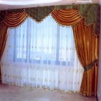 портьеры в гостиную фото 35