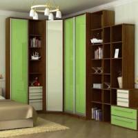 угловые шкафы купе в спальню дизайн фото 28