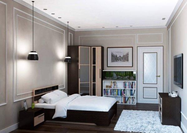 угловые шкафы купе в спальню дизайн фото