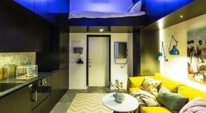 дизайн маленьких квартир студий фото
