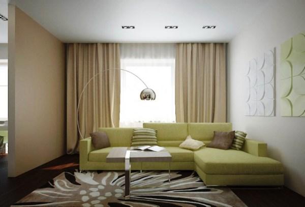 дизайн интерьера маленькой гостиной фото 6