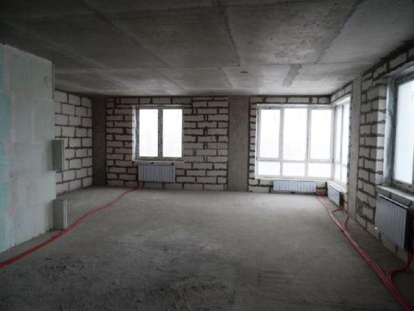 как выглядит квартира студия фото без отделки