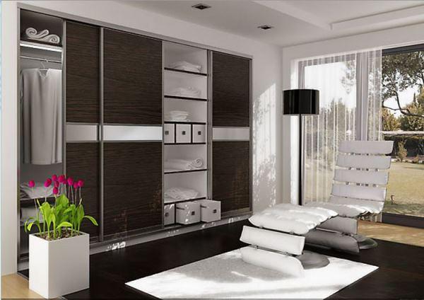 мебель для гостиной в современном стиле фото шкаф купе