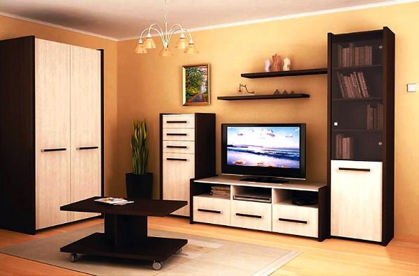 модульные стенки для гостиной фото 4