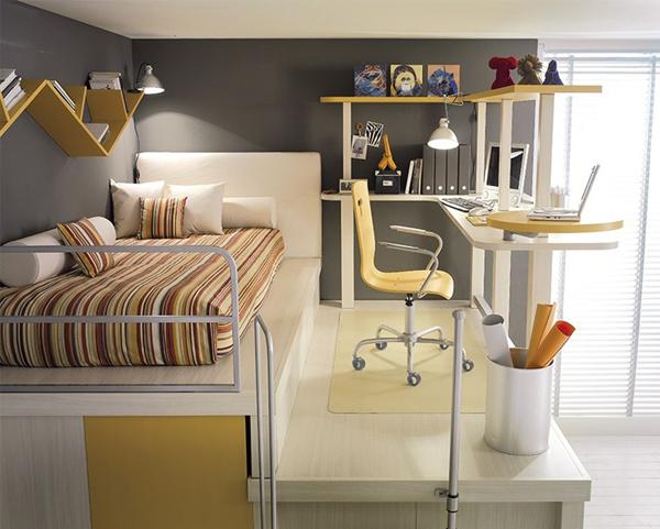 современная комната для подростка мальчика фото