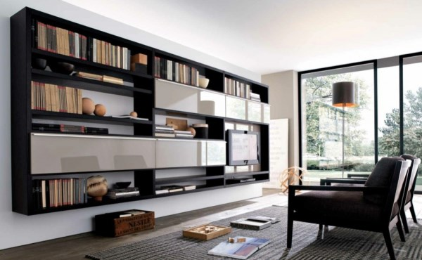 современная мебель в гостиную комнату фото 2