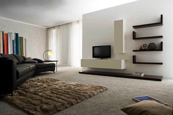 современная мебель в гостиную комнату фото 3