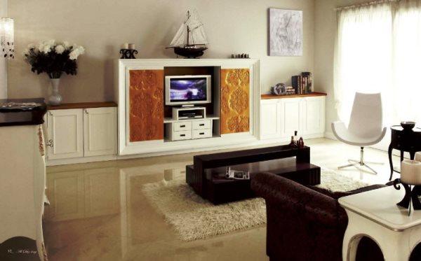 современная мебель в гостиную комнату фото 6