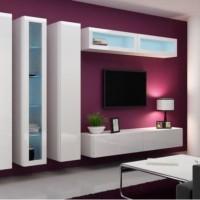 стенка в гостиной модульная в современном стиле фото 18
