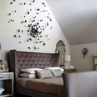 бумажные бабочки на стене своими руками фото 11