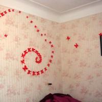 бумажные бабочки на стене своими руками фото 20