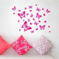 бумажные бабочки на стене своими руками фото 26