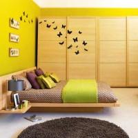 бумажные бабочки на стене своими руками фото 29