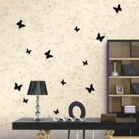 бумажные бабочки на стене своими руками фото 3