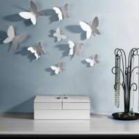 бумажные бабочки на стене своими руками фото 34
