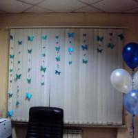 бумажные бабочки на стене своими руками фото 9