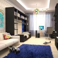 детская комната для мальчика подростка дизайн фото 11