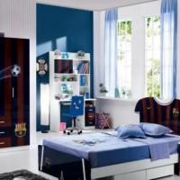 детская комната для мальчика подростка дизайн фото 3
