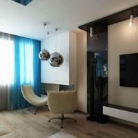 дизайн гостиной в современном стиле фото 14