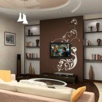 дизайн гостиной в современном стиле фото 19