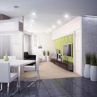 дизайн гостиной в современном стиле фото 2