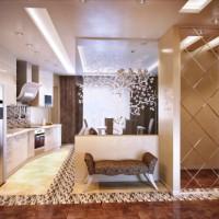 дизайн гостиной в современном стиле фото