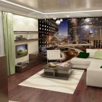 дизайн гостиной в современном стиле фото 25